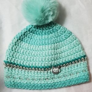 Other - Brand New Crocheted 0-3 month old hat